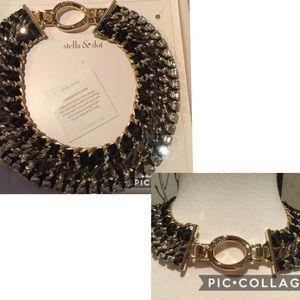 Stella & Dot Tempest Bib Necklace